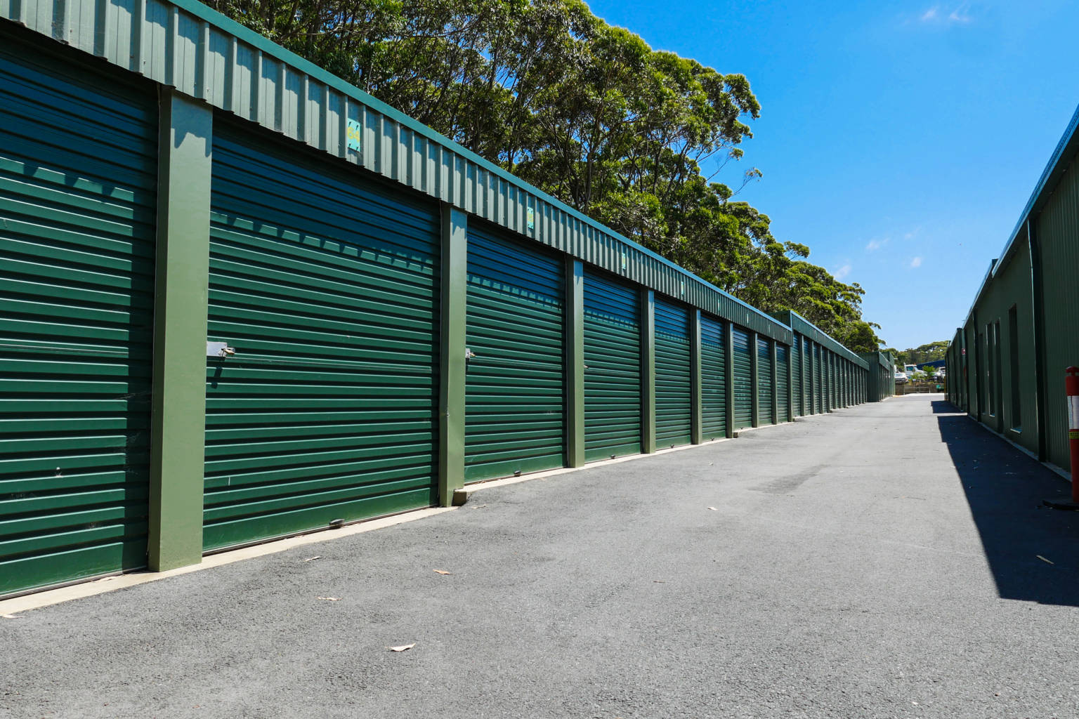 self storage spaces